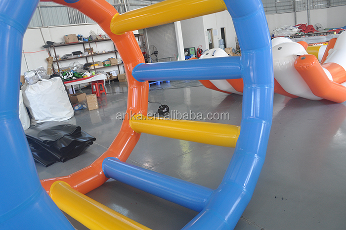 High quality inflatable water toys sports game inflatable roller wheel