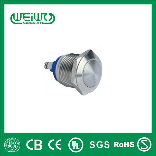 A19-B-10 IP65 metal emergency push button switch