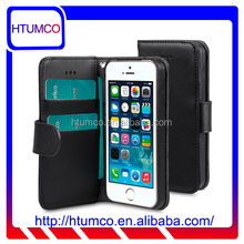 Premium Wallet Leather Case for Apple iPhone 5s / 5