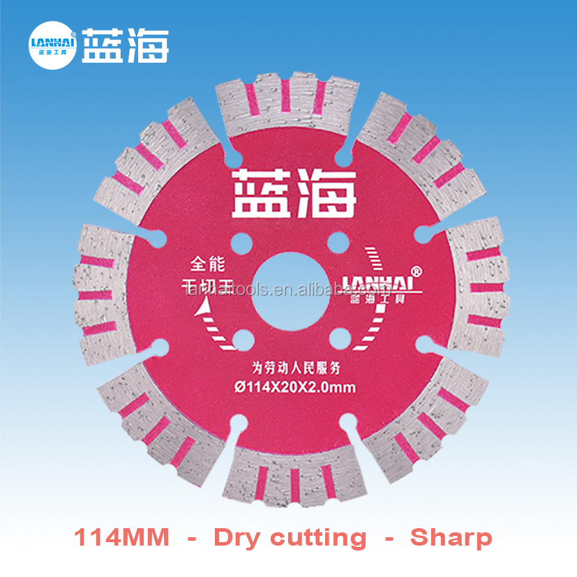 114mm Dry Cutting General purpose Diamond Saw Blade