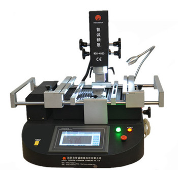 Hot air and Infrared WDS-4860 SMD/SMT laptop repair machine for PCB / BGA chip set / IC motherboard