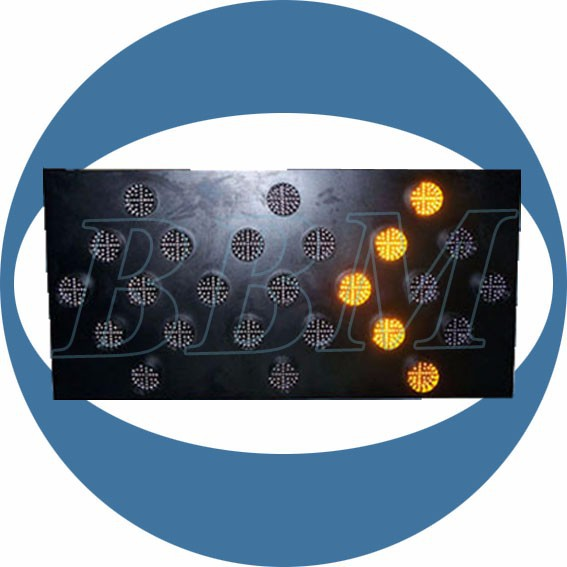 vehicle mounted led arrow boards turning signal lights