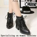 half boots women high quality shoes newest designs PM4113