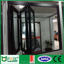 Chinese PNOC Aluminium Windows And Aluminum Bi Folding Window For House And Home Made In Shanghai