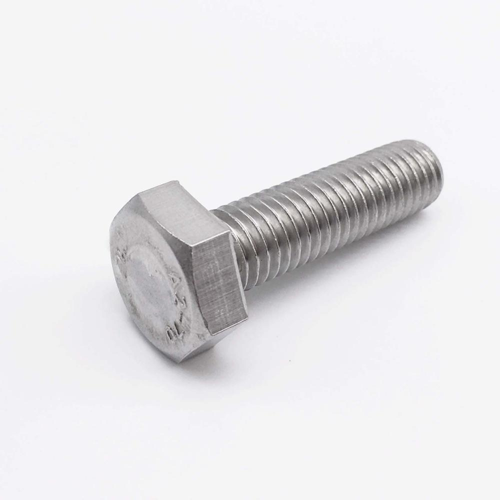 M10x85 Stainless Hex Bolts Full Threads Metric Fastener Grade 304 Pack 25