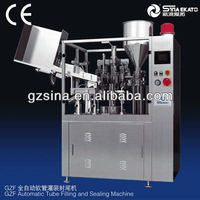 Soft Tube/ Cosmetic /toothpaste/pharmaceutics/food/Filling and Sealing Machine