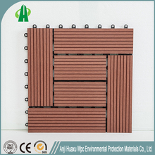 Fireproof interlocking composite wpc decking board for promotion