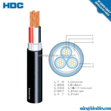 Cable Power 0.6/1Kv E4 Type NYY Size : 4core x 4mm2 NYY Cable