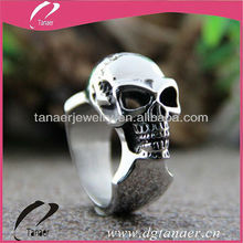 Mens Fashion Jewelry skull wedding rings