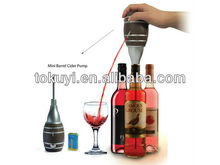 2015 newest gadget electric Wine Aerator Pourer ,makes wine breath easily and funny