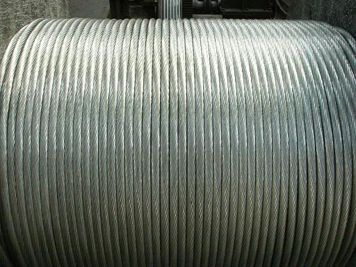 Galvanized steel wire strand/stay guy wire/Ungalvanized steel wire rope