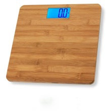 OEM bamboo personal digital bathroom body weigh scale