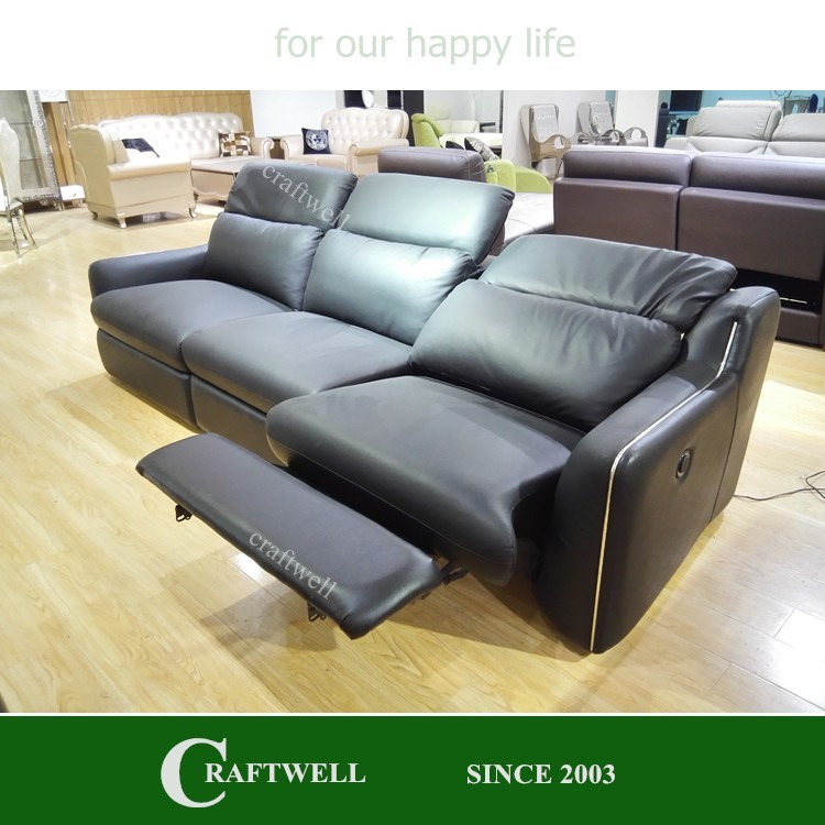 china leather recliner, 3 seater modern italy electric leather recliner sofa china remote control