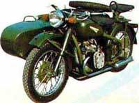750cc Motorcycle With Sidecar