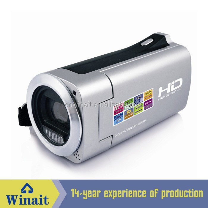 traveler hd video camera Winait Hot HD 720P Digital video camera with 3MP CMOS <strong>Sensor</strong> and Li-ion battery HDV-828