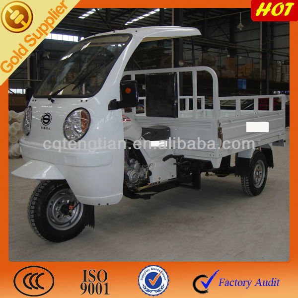 Semi cab tricycle with ABS cabin 3 wheeler 200cc