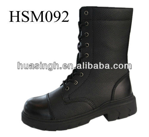 American delta buffalo waterproof leather security force combat boots