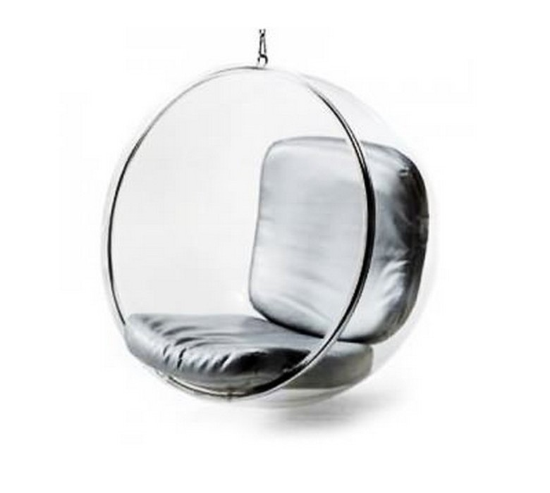 Clear cheap price kids swing hanging acrylic bubble chair