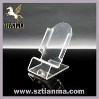2013 new products acrylic cell phone dispaly holder