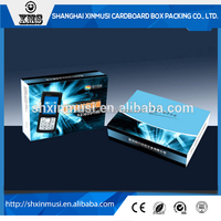 Custom Corrugated Paper Box Packing Electronic Items
