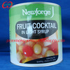 Brands canned mixed fruits manufacturer, cheap canned fruit cocktail manufacturer from China