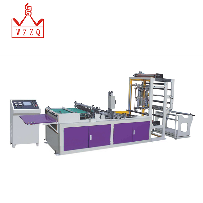 Customization high quality hand plastic t-shirt paper bag making cutting machines
