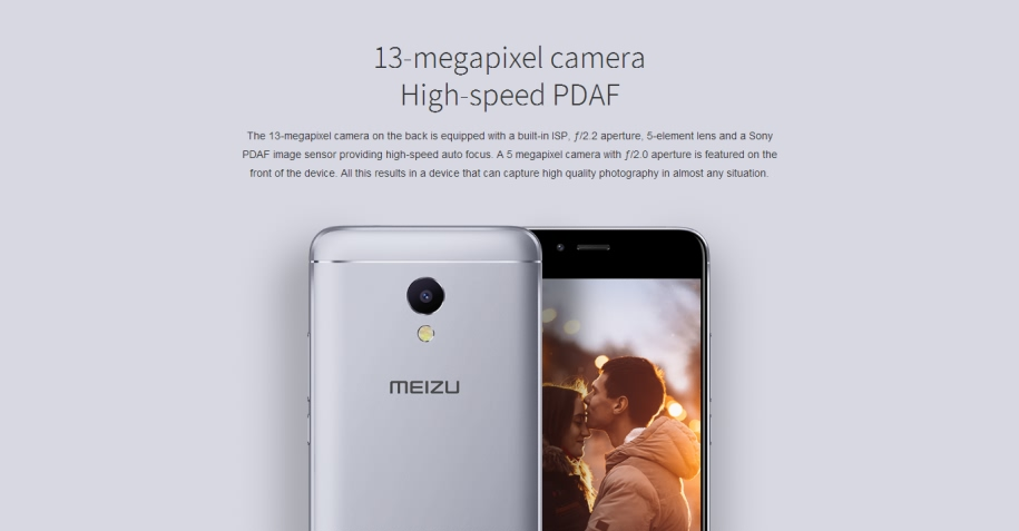 Original MEIZU M5S Global Version M612H 3GB 32GB Rom mobile phone