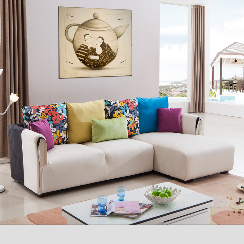 China Fabric Comfortalbe Recline Fabric Sofa Set For Sale