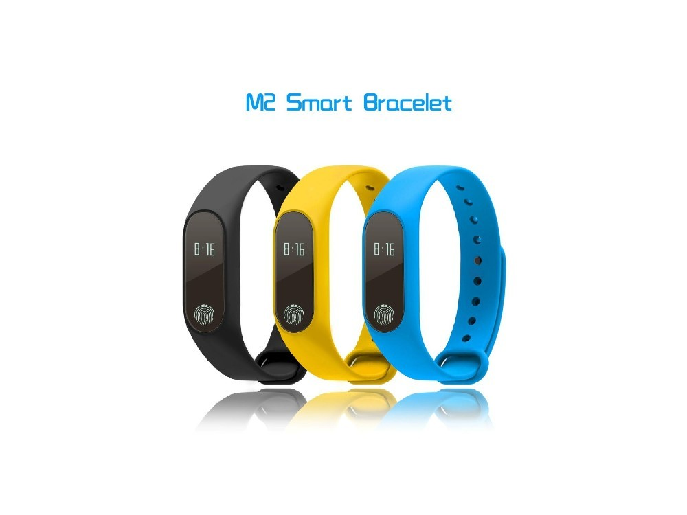 Fitness Activity Tracker Smart Bluetooth 4.0 Silicone Pedometer Wristband with Heart Rate and Sleep Monitor