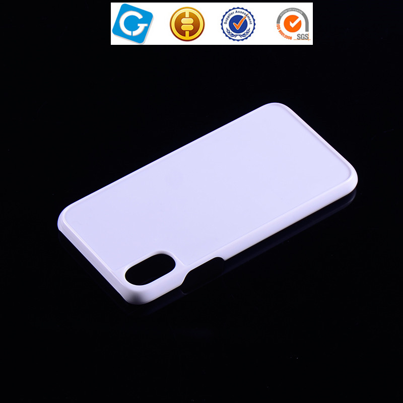 New product mobile phone cover custom hard plastic blank case for iPhone X white PC case