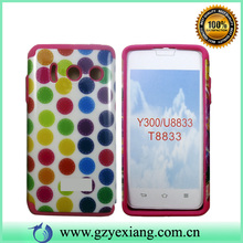 design hard back cover for huawei ascend y300