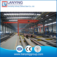 New style construction design steel structure warehouse