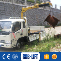 Small Manual Hydraulic Arm Crane 1 ton Boom Lift