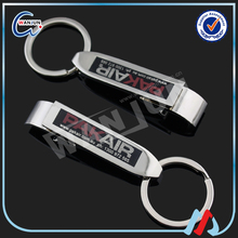 promotion zinc alloy bottle opener key chain