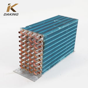 Copper Finned Coil Tube Heat Exchanger Condenser Coil