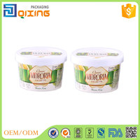 wholesale gelato treat paper cup with paper lid