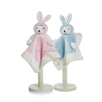 Wholesale Baby Blankets/Stuffed Animal Blanket/Plush Rabbit Stuffed Blanket