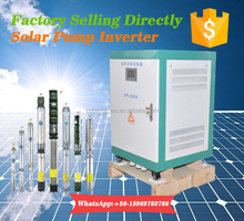 China wholesaler 25kw agriculture solar water pumping system motor inverter