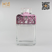 screen printing surface handling vintage glass perfume bottles 100ml wholesale