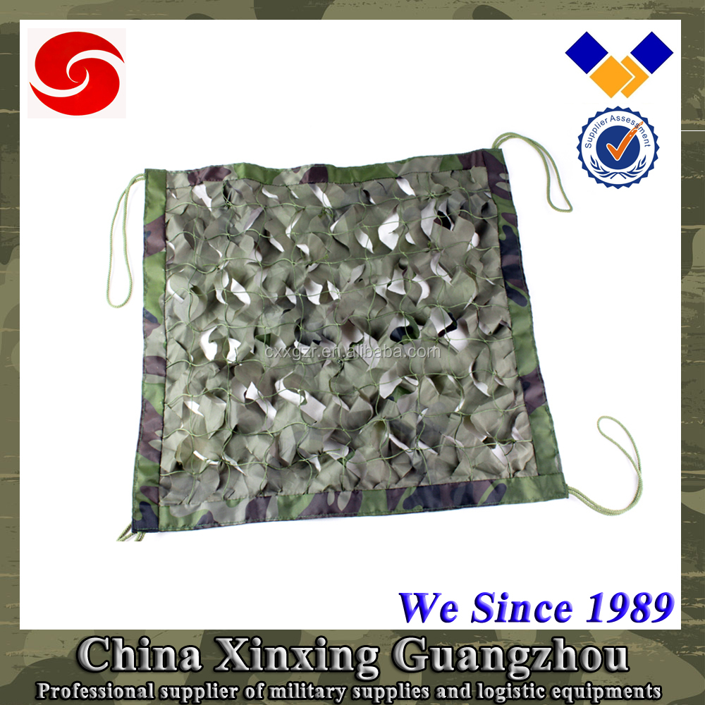 2x2, 5x5, 10x10 Army High strength Oxford fabric Military Camouflage net for car, tank, weapon, house