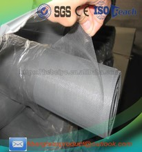 Fiberglass invisible window screen material