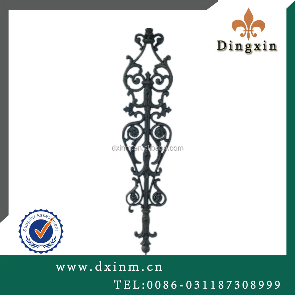 The ornamental fence accessories gate fence stair parts decorative fence parts