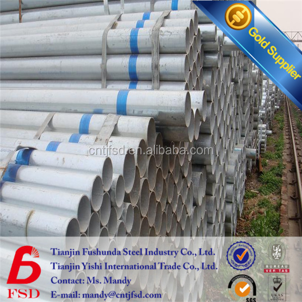2014 FOB china bs 4568 galvanized steel pipe BS galvanized pipe fot hot sale