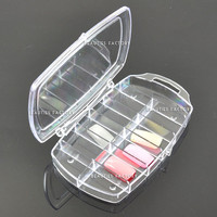 Beauties Factory Empty 11 Space Nail Art Tools Tip Storage Box Case