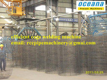 Automatic steel wire mesh welding machine,welding wire steel cage