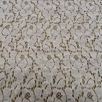 nylon cotton knit fabric lace with best quality competitive price