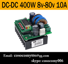CNC Digital LED Display Battery Charger 400W DC-DC Boost Converter