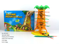 New funny battery operated falling monkey game play set toy for kids