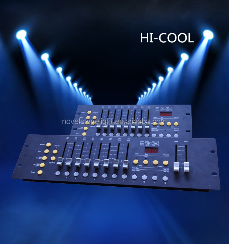 192 Channel controller/disco dmx controller for night club/mini 192 controller