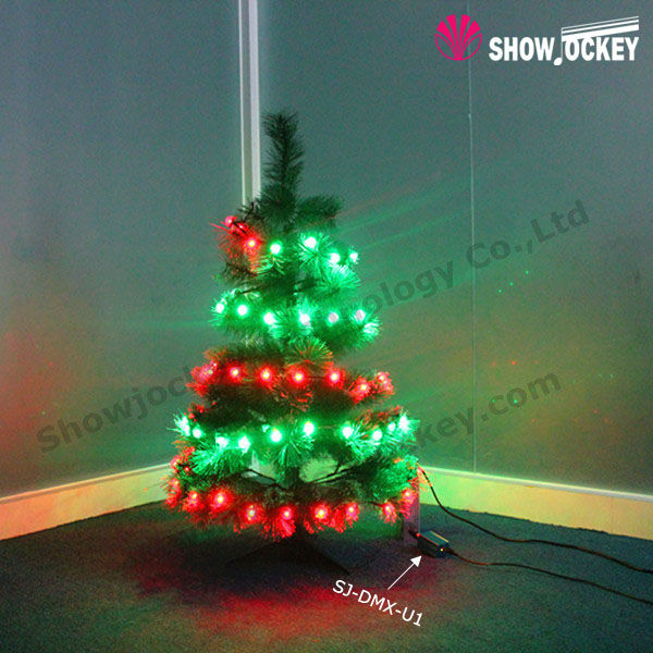 Wholesale!!! Multicoloured Decorated Small Cheap LED Christmas Tree
